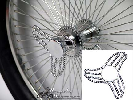 Lowrider Bicycle Square Twist Knock Offs