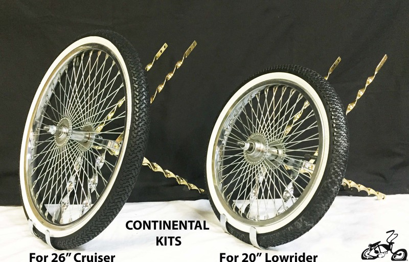 Lowrider Bicycle Continental Kit