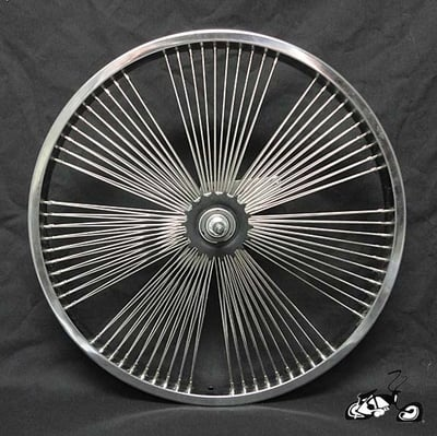 "20"" 140 Fan Coaster Wheel 10 SPOKE CLUSTERS"