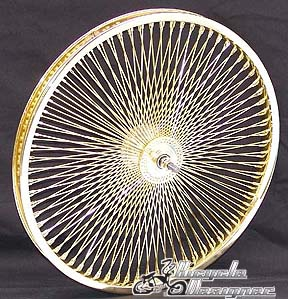 "546104 20"" 140 Spoke Front Wheel GOLD"