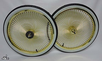 "20"" GOLD 68 Coaster Wheel Kit - WW"