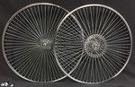 "26"" 68 Spoke Rear Free Wheel Front Disc Brake"