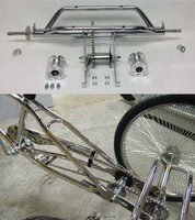 "20/"" Tricycle Trike Conversion Kit Chrome 3 wheels bike"