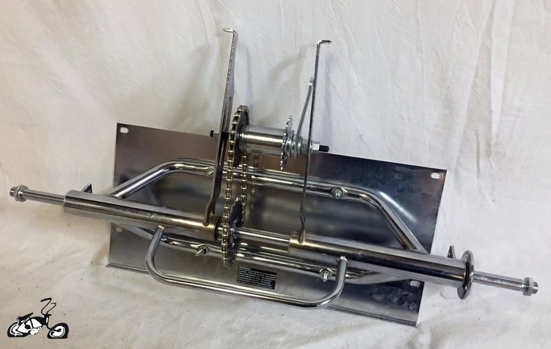 Trike Kit With Metal Platform For A Cruiser Or Chopper